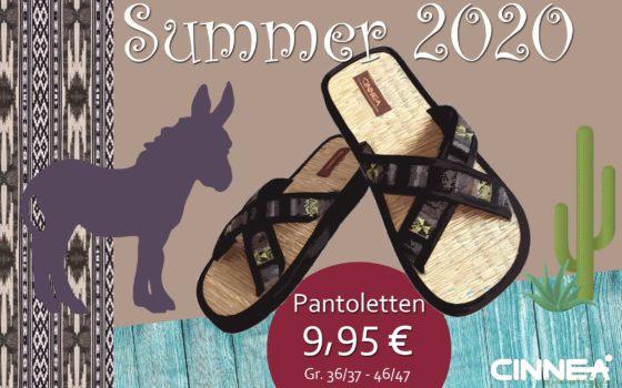Pantoletten-Ethno-Angebot