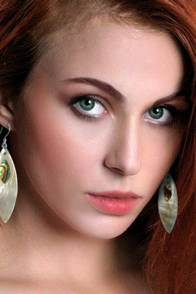 Ohrringe Perlmutt